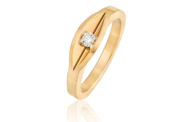 bijzondere trouwringen voor vrouw met diamant