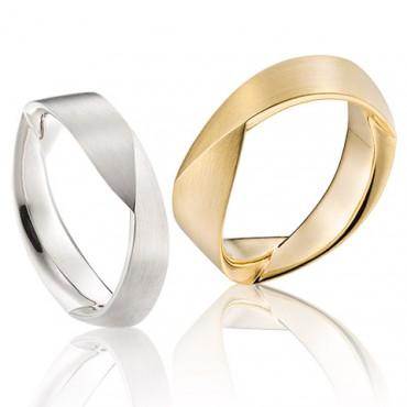 moderne ringen van goud