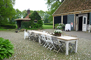 Coco Maria trouwfeesocatie in Veenhuizen