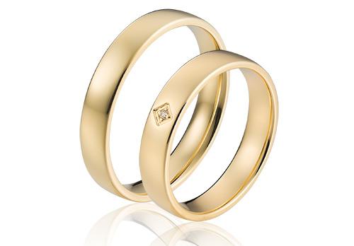 Christelijke trouwringen goud