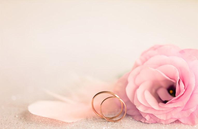 gladde huwelijks ringen