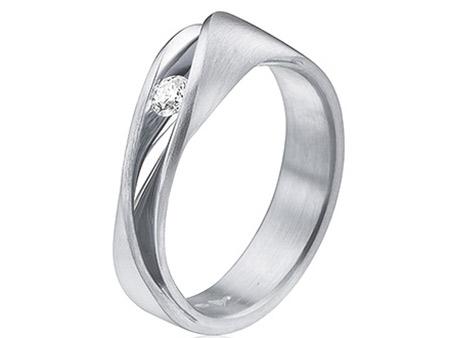 Bijzondere Verlovingsring Met Diamant