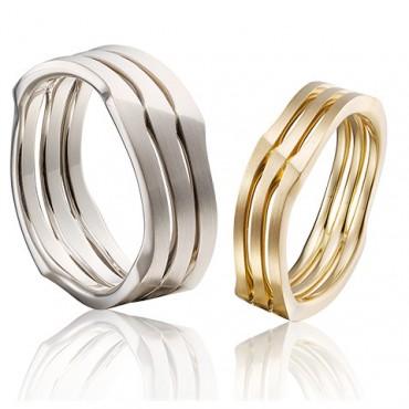 Speciale en bijzondere trouwringen in goud