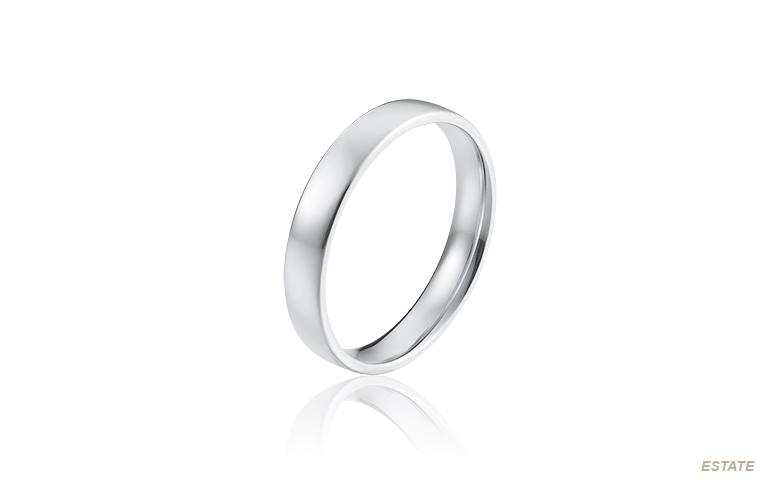 platina ring voor mannen